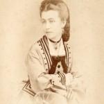 Portrait de jeune femme, photo Durand, Benjamin Escudié successeur, Lyon.