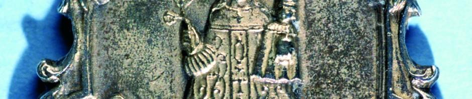 Médaille en argent de la Vierge de Font-Romeu