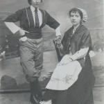 Folklore roussillonnais vers 1920.