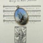 Médaillon de saint Ferreol, Céret, milieu XIXe s.