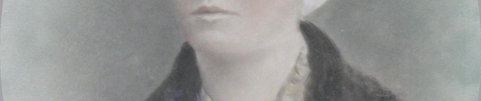 Portrait de Catalane, Perpignan, vers 1880, photo et aquarelle.