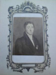 Portrait photographique du marquis Dax de Cessales