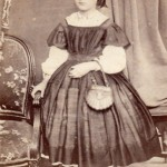 Jeune fille, P.Mateille photographe, Second-Empire.