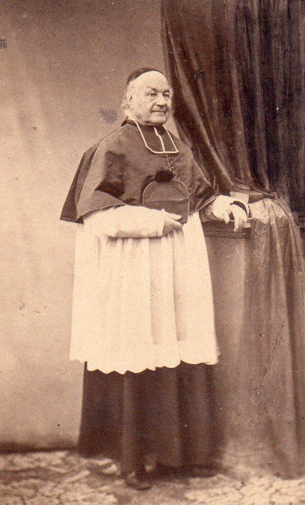 Portrait d'ecclésiastique, Pierre Germain, photographe à Perpignan.