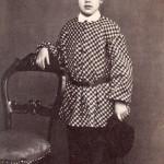 Portrait d'enfant, vers 1860, Pierre Germain photographe à Perpignan.