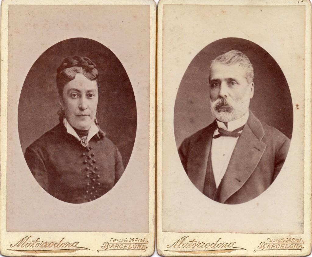 Couple de barcelonnais, photo M.Matorrodona, calle Frenando VII, 34.