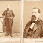 Portrait de notable, Barcelone, photo Hostenc, vers 1860.