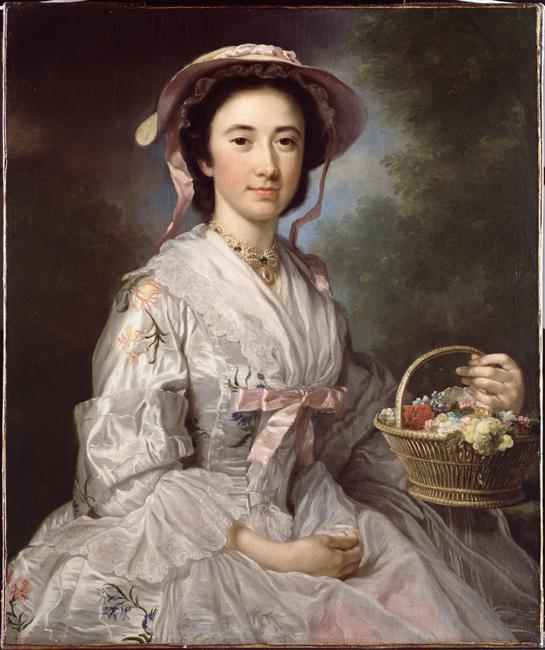Lucy Ebberton par George Knapton, c. 1745-1750