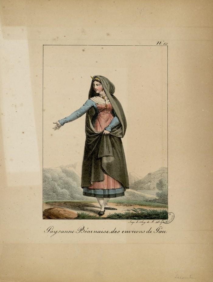 Lithographie de Lecomte, 1819.