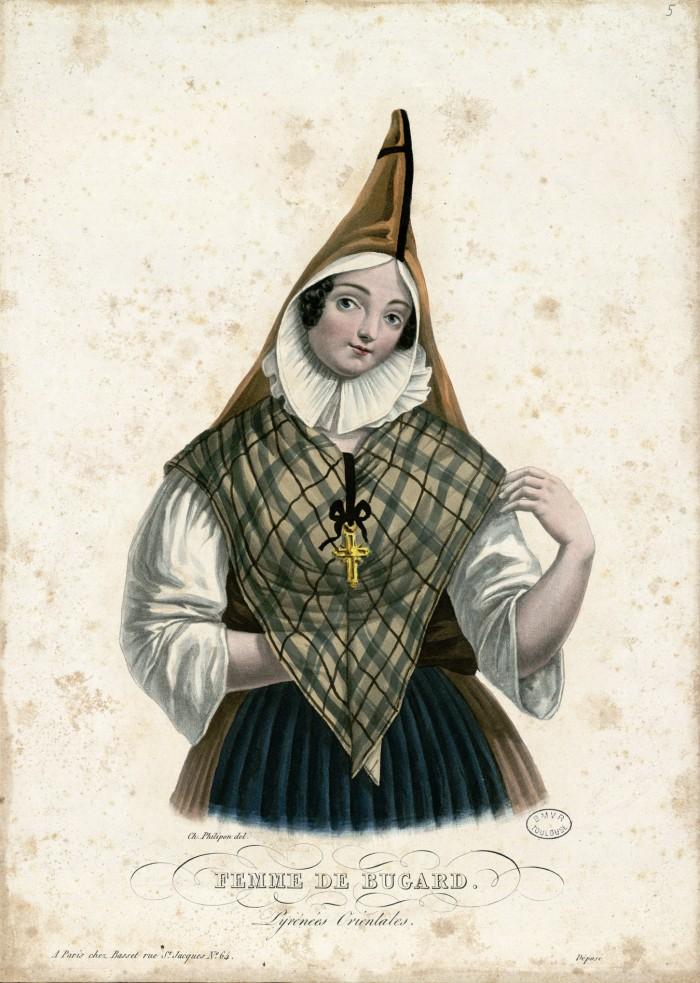 femme des Pyrénées