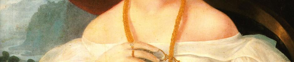 Barabás; portrait de femme.