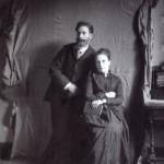 Henri de MASSIA (1858-1918), fils des précédents, et son épouse Thérèse de PAGèS de BEAUFORT (1860-1954)