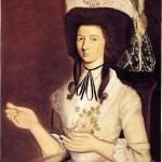 John MacKay or M'Kay, portrait de Mrs Ruth Stanley, Connecticut, 1788.