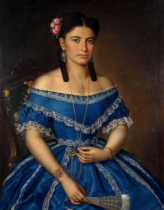Misu Popp, portrait de jeune femme