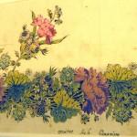Projet d'indienne, Archives de Barcelone.