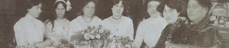 Soirée chez les Borreil, Ille sur tet, vers 1910.