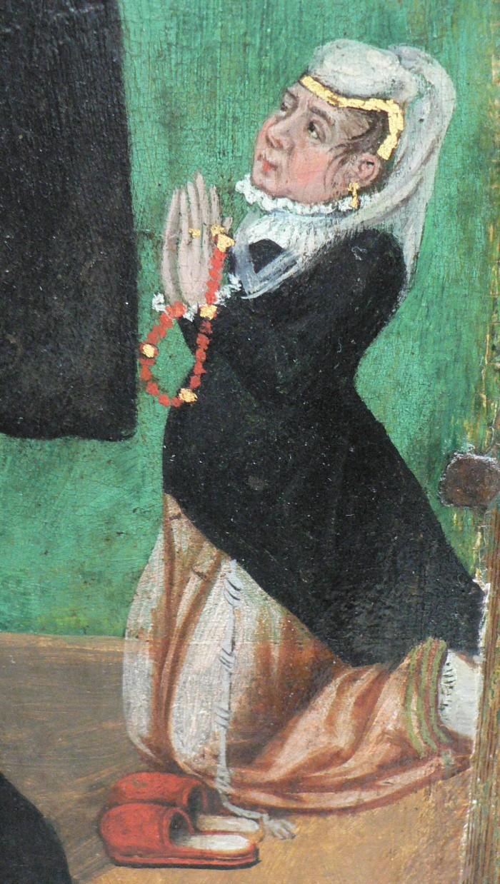 Costume féminin en Roussillon, fin XVIe, début du XVIIe s.