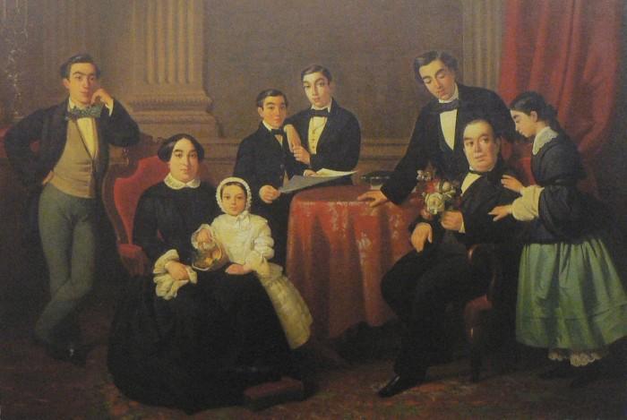 mode barcelonaise en 1850.