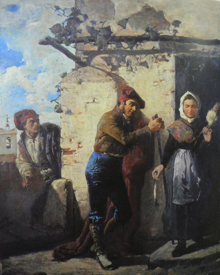 La Gelosia, Simo Escobedo, 1866.