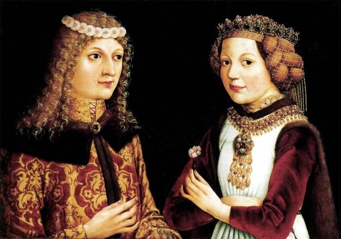 Ladislas le Posthume et Magdalena de Valois