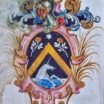 Armes de la famille noble Maris, Perpignan, Roussillon.