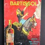 Publicité du bartissol, vin apéritif catalan.