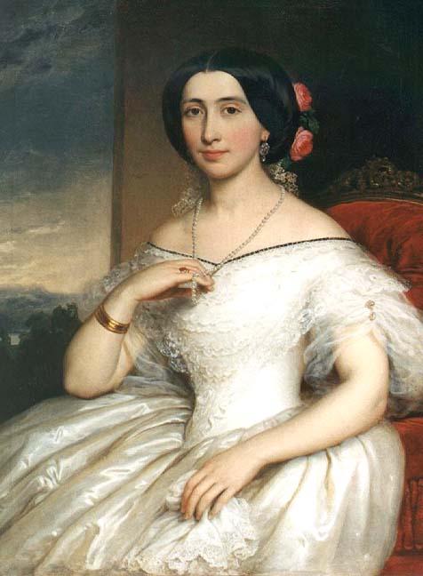 Barabás, portrait de madame János-Matta