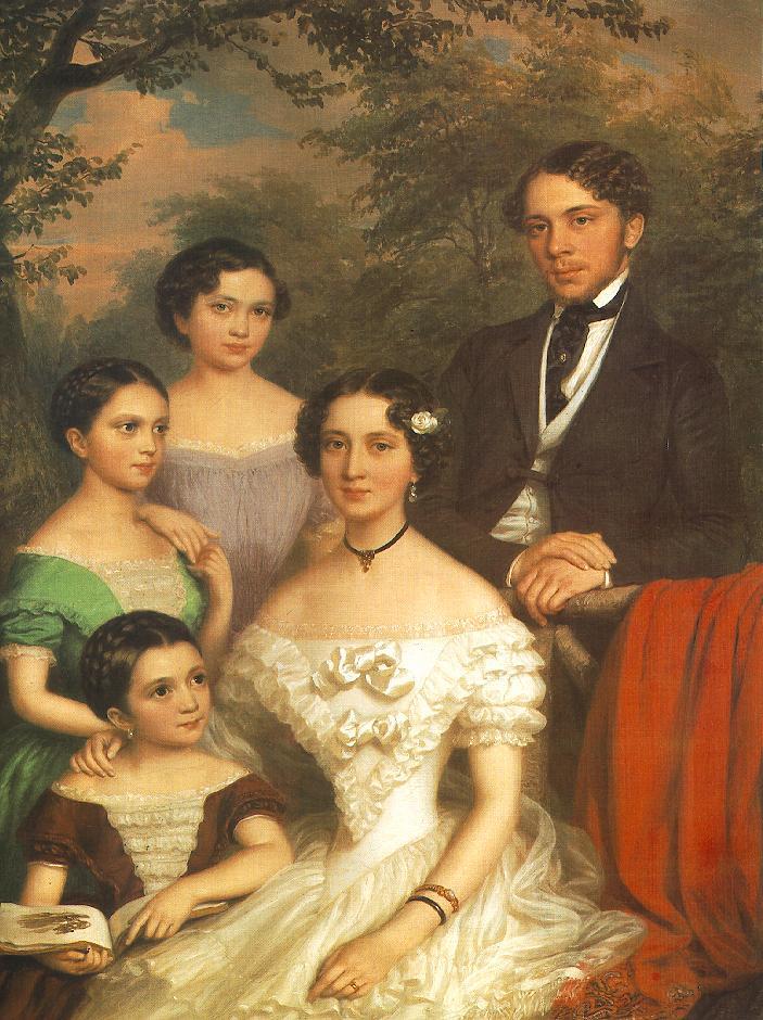 Barabas, portrait de la famille Degenfel