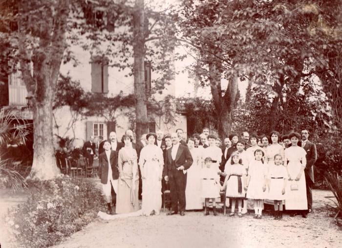 Mariage Lacour d'Hauterive, Ille sur Tet, 1913.