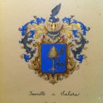 Armorial de la famille de Saleta, Roussillon.
