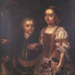 Ádám Mányoki, portrait d'enfants, 1724.