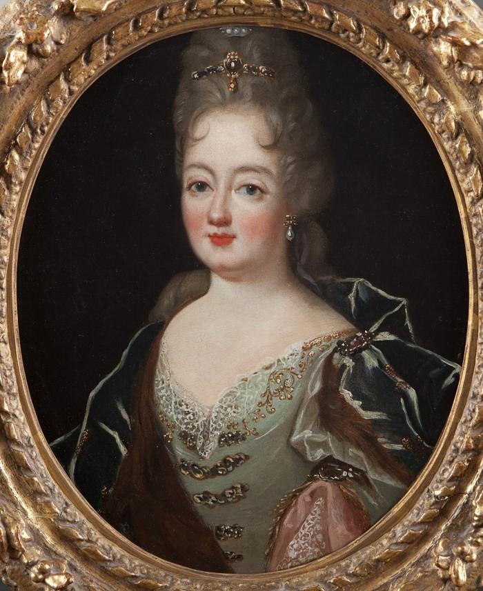 portrait de femme vers 1680-1690, coll. part.