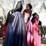 Reine d'Arles et sa cour