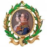 Isabel II et François d'Assises de Bourbon