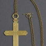 Croix pectorale et sa chaine, ayant appartenu au cardinal Fesch