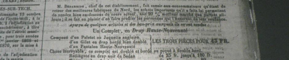 Journal des P.O.; 1867.
