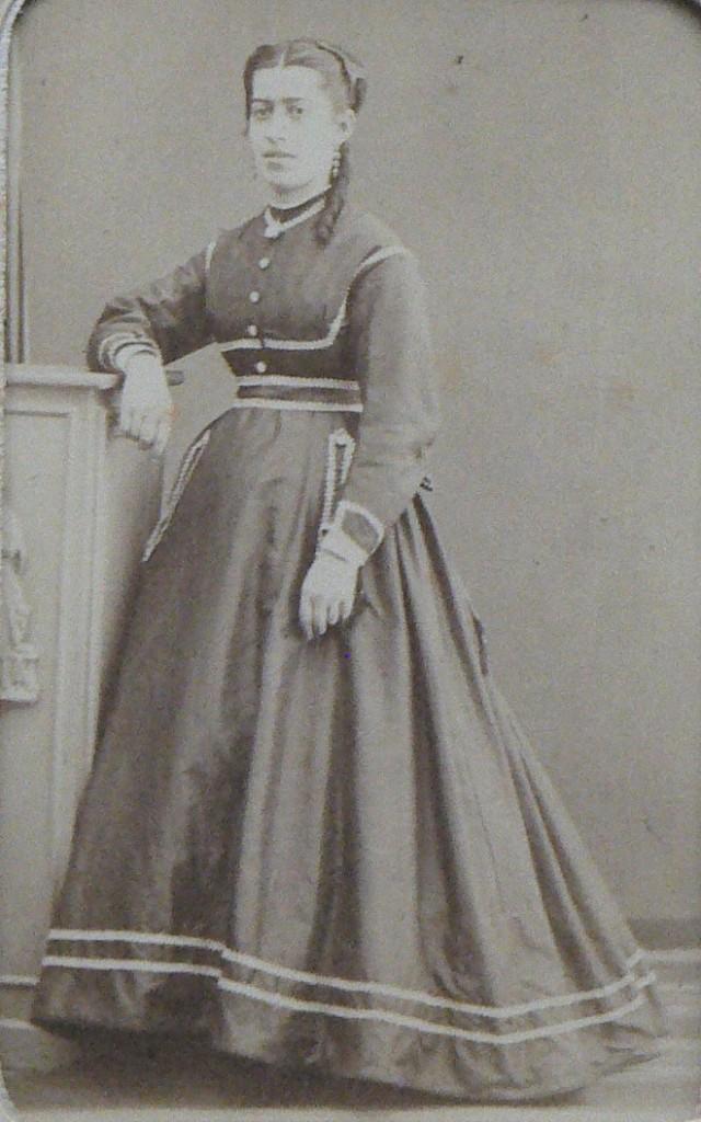 Marie Héraut, née de Blaye, photo Scanagatti, Perpignan.