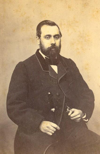 Henri Gauderique Boluix, notaire à Perpignan.