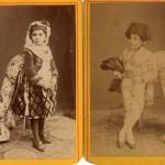Enfants en costumes espagnols, photo Provost, Perpignan.