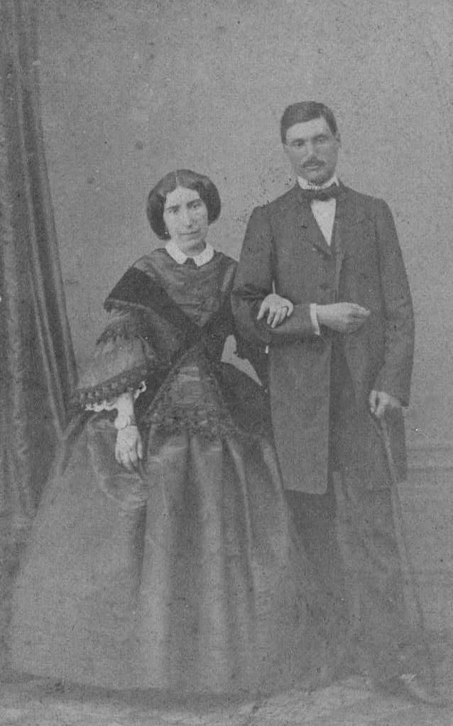Joseph de Llobet et Gabrielle de Chefdebien