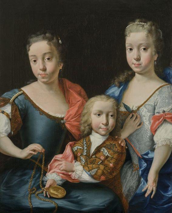 Les petits-enfants de Adriaen van der Werff
