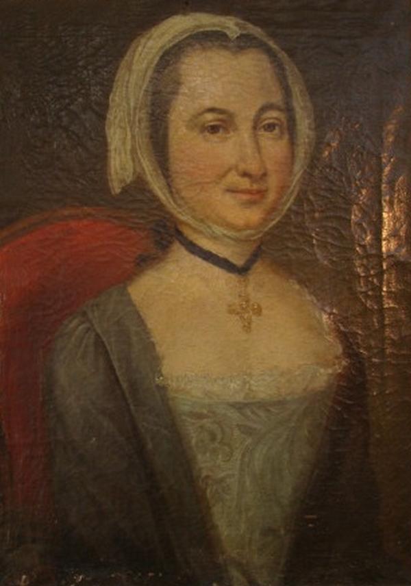Arlésienne, vers 1780.