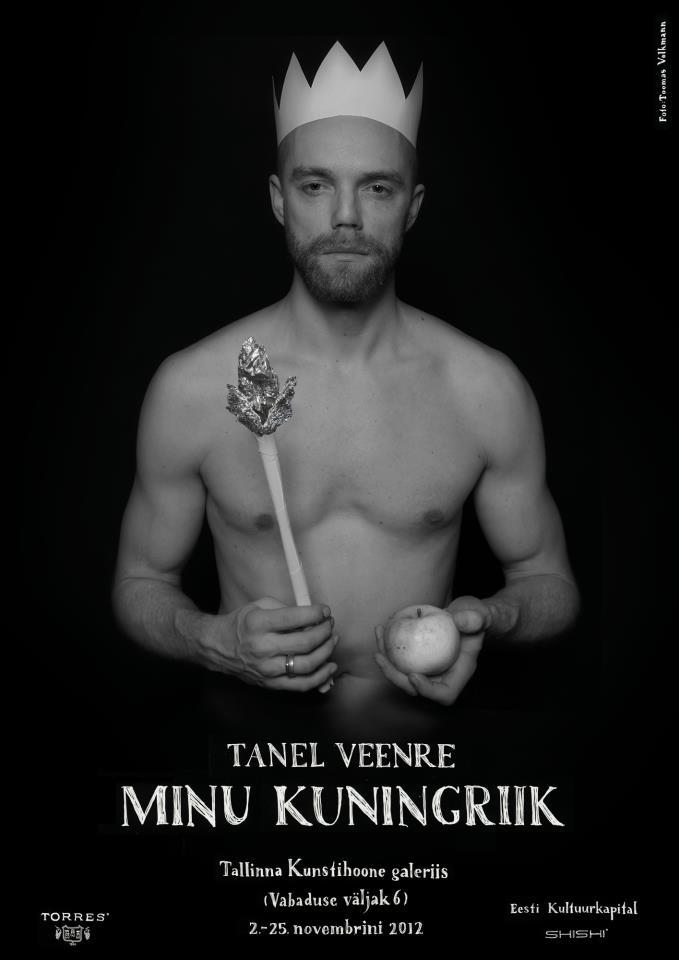 Affiche de l'exposition 2012 de Tanel Veenre