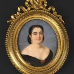 J. JULES NIMMO (PARIS, VERS 1830-APRÈS 1881), Portrait de la duchesse d'Abrantès