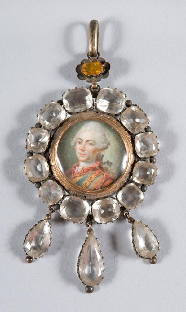Ecole française miniature, 1770.