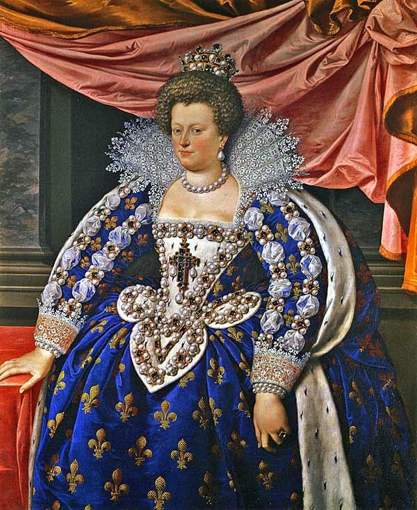 Marie-de-Medicis, régente de France