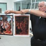 Exemples sur le traitement des peintures anciennes