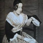 Arlésienne, vers 1853.