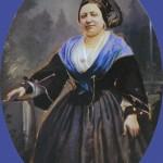 Arlesienne, vers 1863.