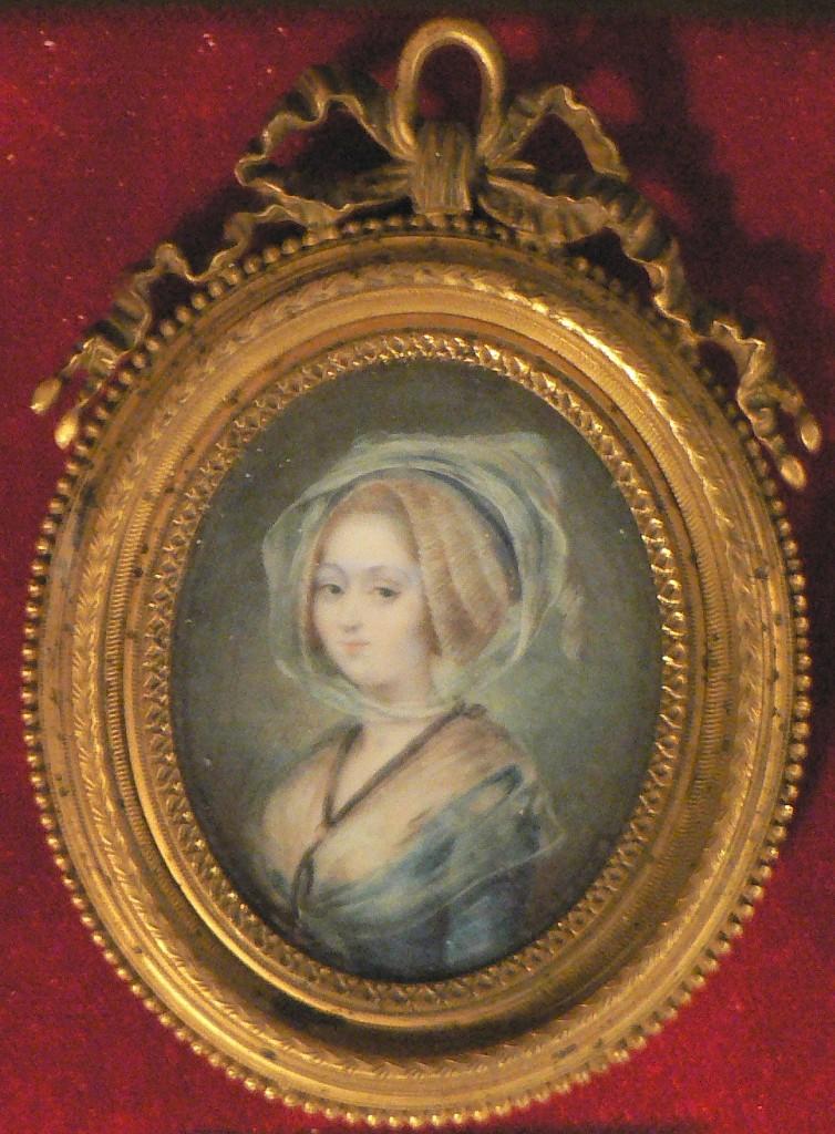 Portrait de Marie Thérèse Martin d'ANGLES